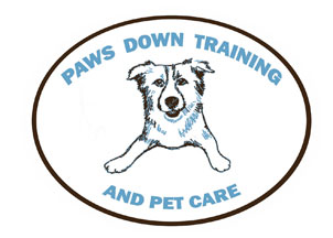 Paws Down Training Logo